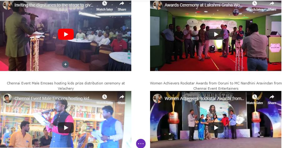 Are you looking for a MC to host an Awards Function Event in Chennai?