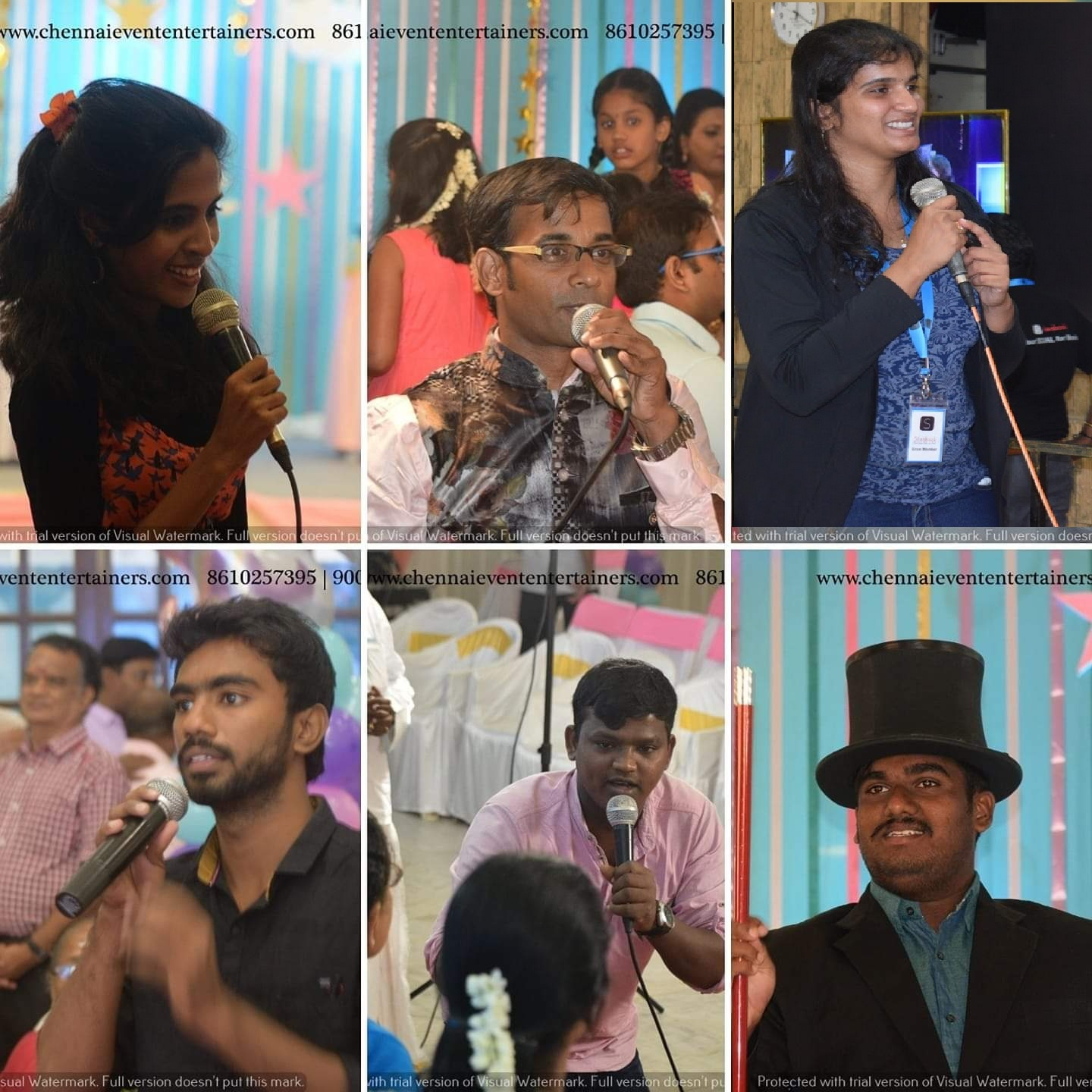 Chennai Event Emcees and Entertainers Official Team