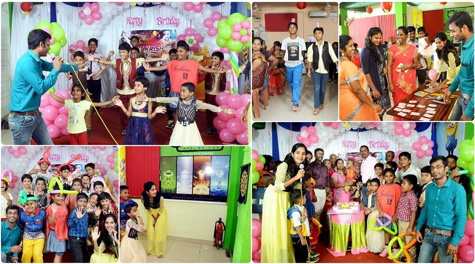 Chennai event Emcees and entertainers hosting birthday party