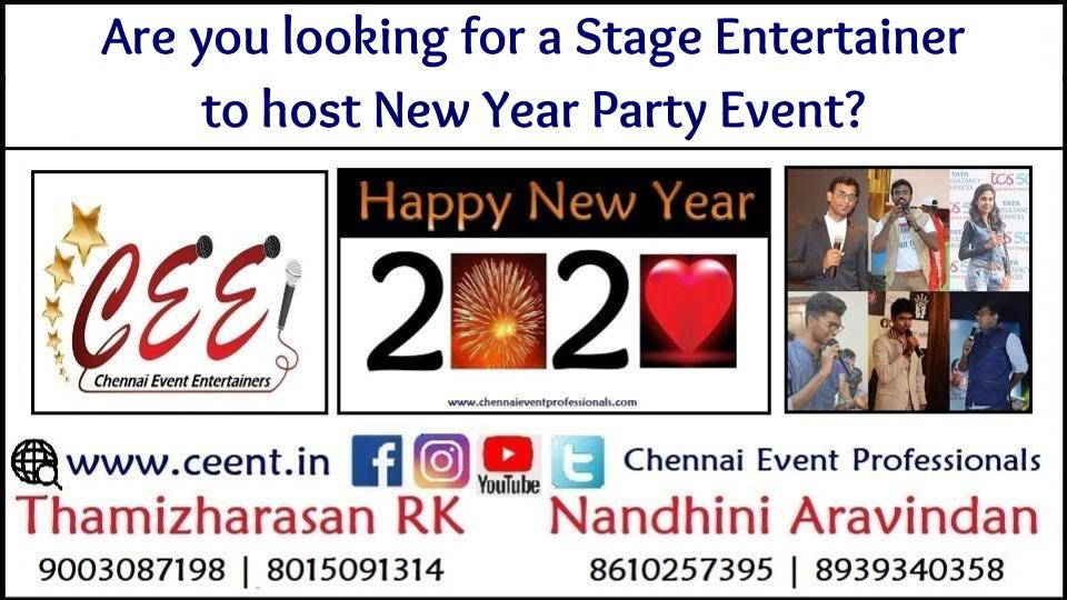 Are you looking for a Stage Entertainer to host New Year Party Event_
