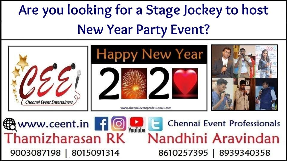 Are you looking for a Stage Jockey to host New Year Party Event_