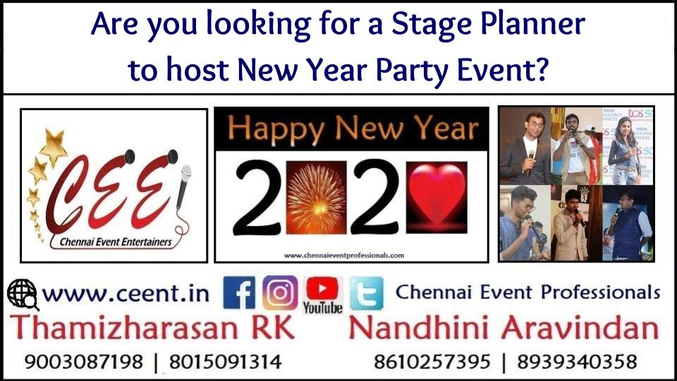 Are you looking for a Stage Planner to host New Year Party Event_