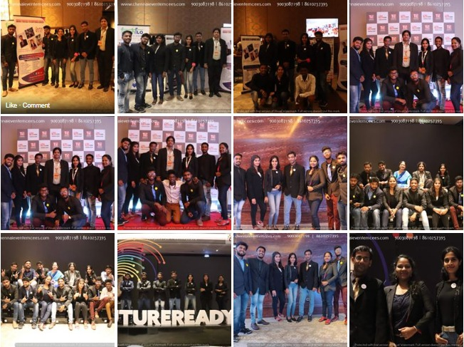 Chennai Event Emcees Entertainers and Professionals Team at TiECON CHENNAI 2019