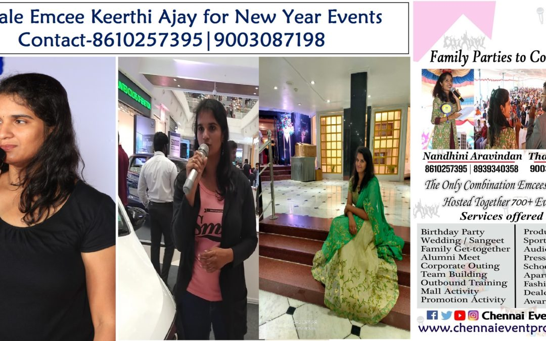 Chennai Female Emcee Keerthi Ajay Kids Events Video Links in English