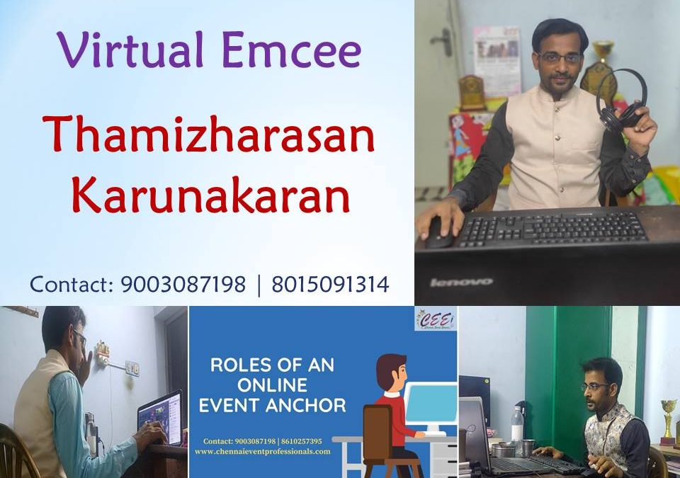 Virtual Emcees for Online Training Programs and Workshops in Zoom