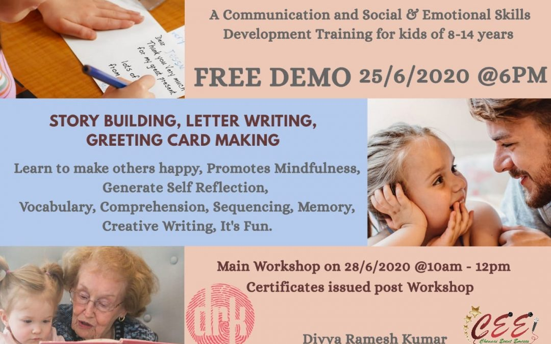 Social and Emotional Skills Development Online Workshop for Kids