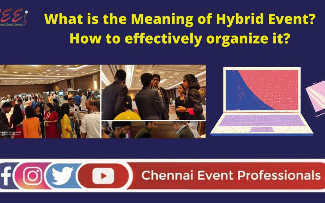 Video in Tamil What do you mean by Hybrid Event