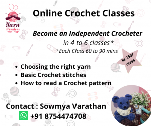 Become an Independent Crocheter through online crocheting classes 4