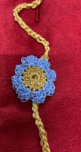 Crocheted Rakhi Learn in the comfort of your home