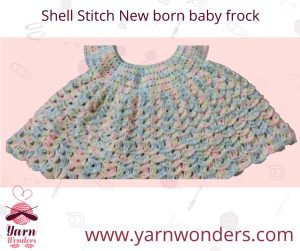 Shell Stitch New Born Baby Frock Online Crocheting Classes