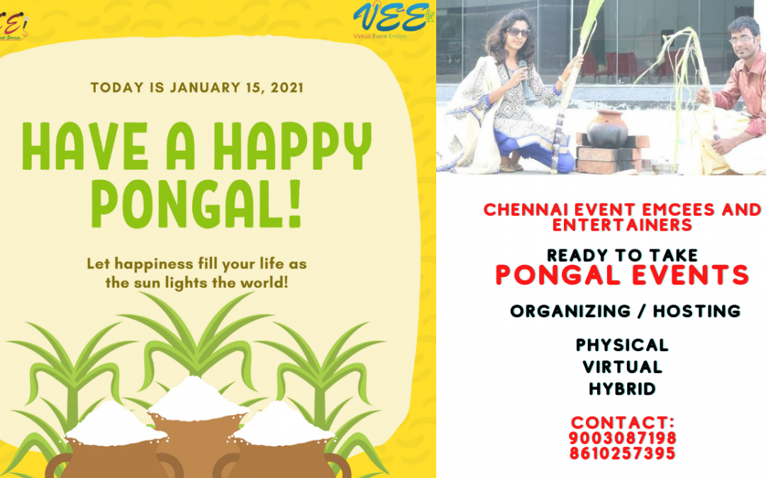 Pongal Celebrations as Hybrid Event Physical and Virtual
