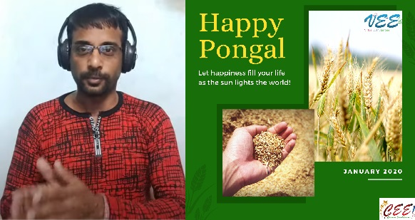 Pongal Celebrations Event as Hybrid Physical and Virtual