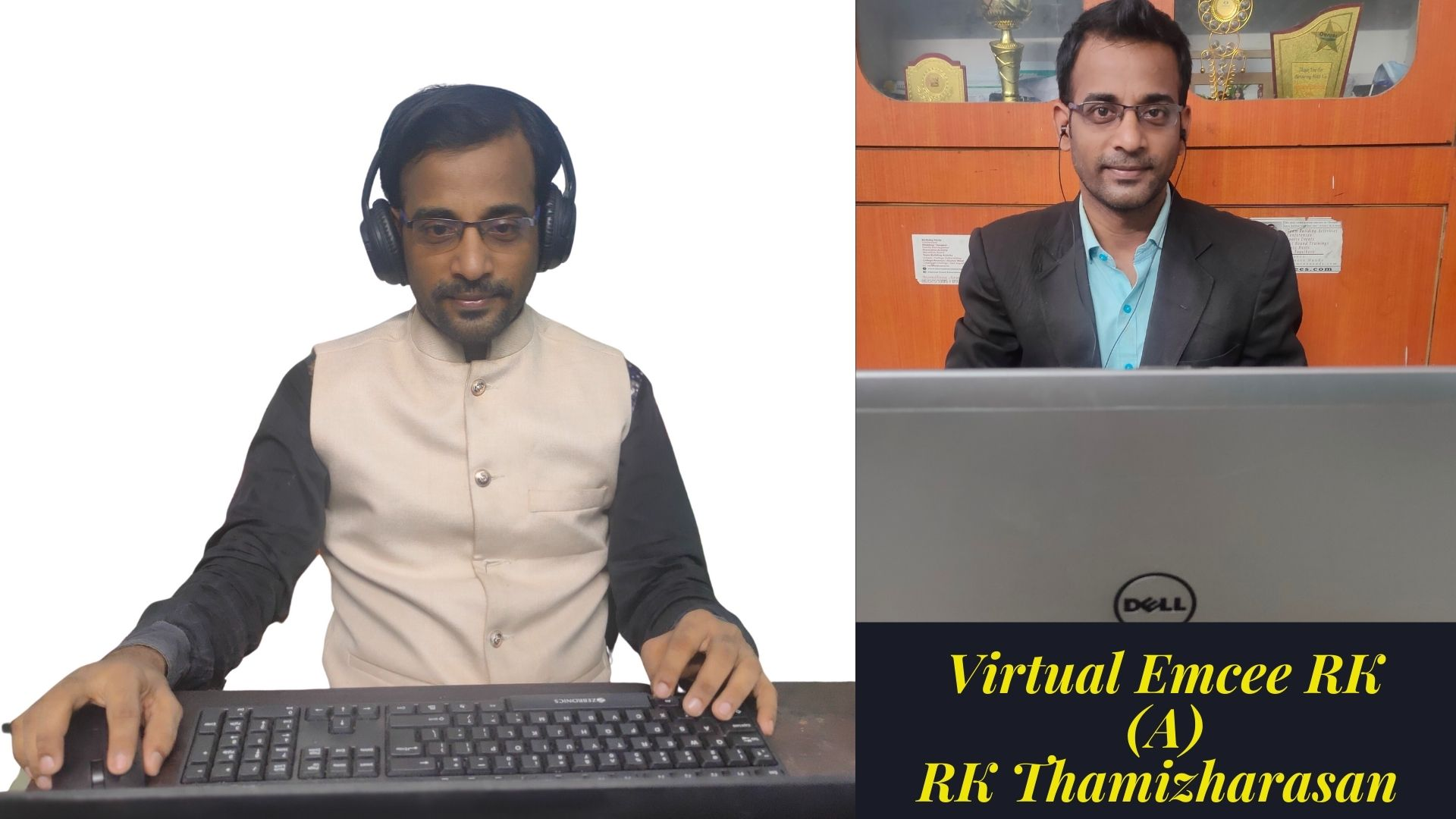 3 Virtual Emcee RK Thamizharasan from Chennai for Online Birthday Parties Corporate Conference Events