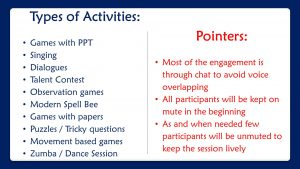 Games Plan_Corporate Virtual Fun Activities Plan by Chennai Event Professionals and Entertainers