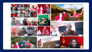 Hybrid Christmas Event_Corporate Virtual Fun Activities Plan by Chennai Event Professionals and Entertainers