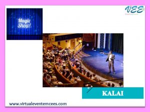 magician Kalai_Entertainment Event and Games Plan for Online Birthday Party